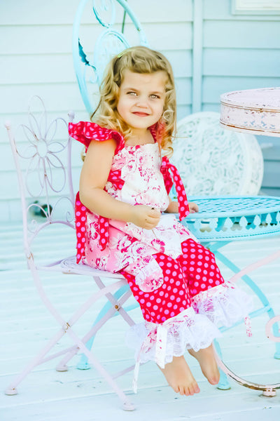 Sale! Stage Coach Girls Lace or Tulle Ruffled Pants PDF Sewing Pattern