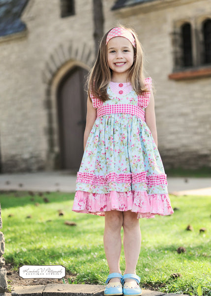 Ruthie's Picnic Dress PDF Sewing Pattern