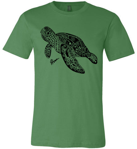 Bad Tuna T-shirt Co. LOCAL SALT TRIBAL HONU T-SHIRT hi-50 local salt