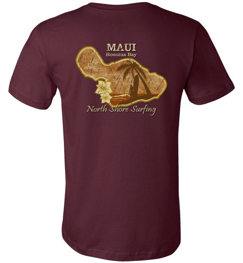 HI-50 MAUI NORTH SHORE SURFING TEE
