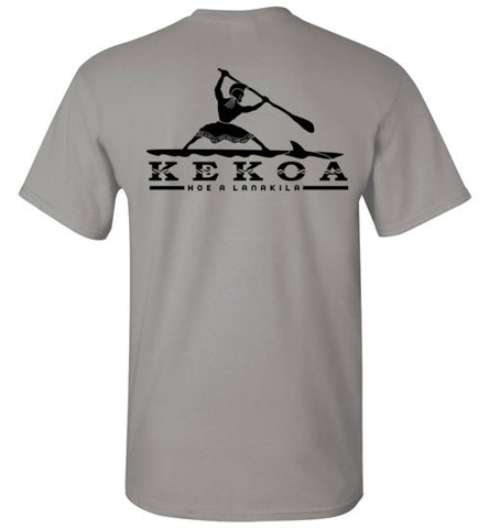 Bad Tuna T-shirt Co. KEKOA PADDLE TO VICTORY LIGHT COLOR VARIETY TEES hi-50 local salt