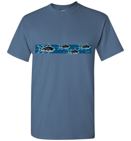 Bad Tuna T-shirt Co. AHI HUNTERS FISH SHORT SLEEVE T-SHIRT badtuna