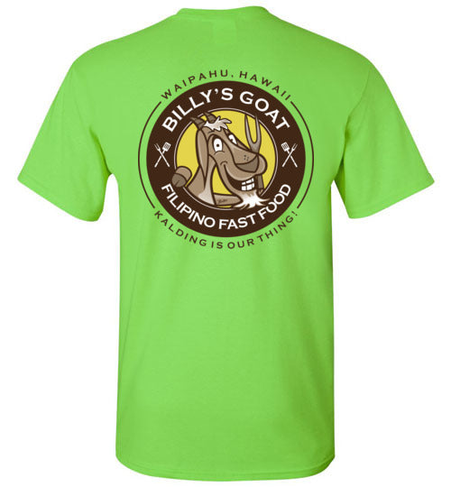 BILLY'S GOAT FILIPINO FAST FOOD T-SHIRT