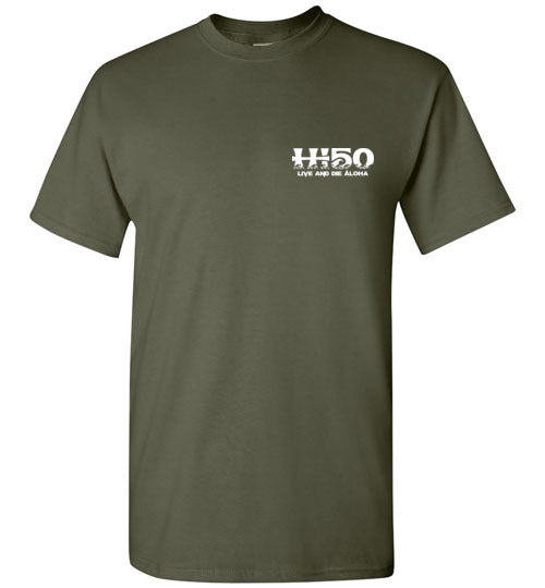COVID 19 MAHALO AWARENESS, HI-50  T-SHIRT