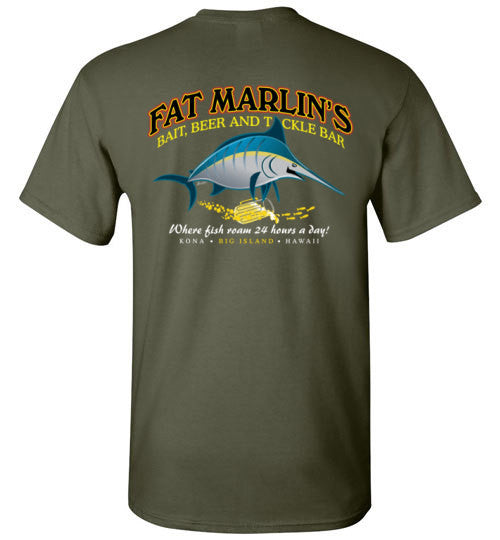 Bad Tuna T-shirt Co. FAT MARLIN'S BAR T-SHIRT badtuna