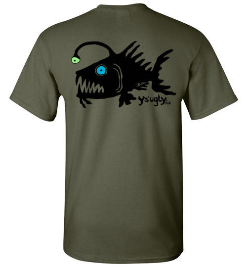 Bad Tuna T-shirt Co. YO UGLY FISH T-SHIRT badtuna