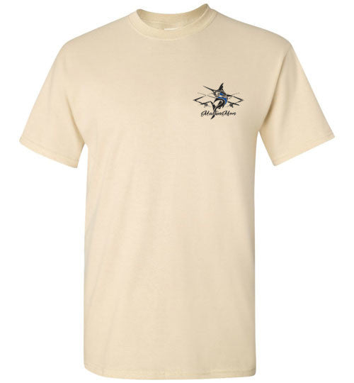 Bad Tuna T-shirt Co. VINTAGE MARLIN-MEN FISHING T-SHIRT badtuna