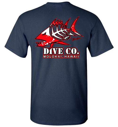 BAD TUNA DIVE CO. MOLOKAI T-SHIRT