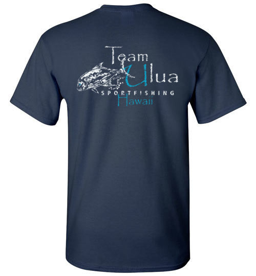 Bad Tuna T-shirt Co. TEAM ULUA SPORTFISHING HAWAII T-SHIRT badtuna