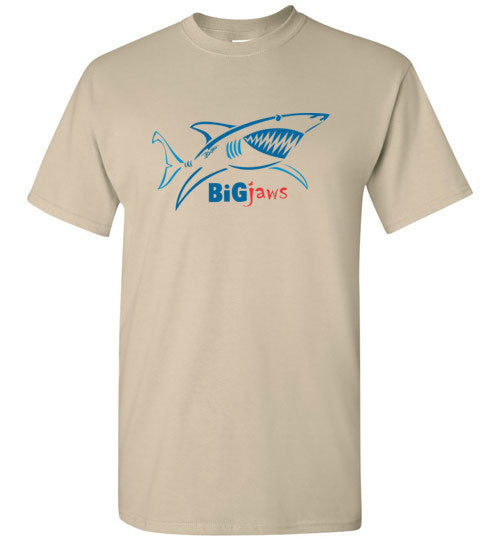 Bad Tuna T-shirt Co. YOUTH BIG JAWS SHARK LIGHT T-SHIRT badtuna