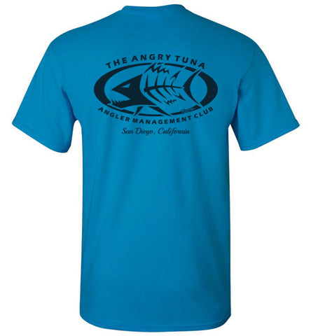 ANGRY TUNA ANGLER MANAGEMENT SAN DIEGO T-SHIRT