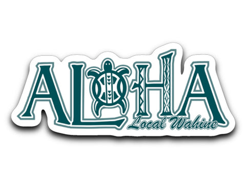 Bad Tuna T-shirt Co. ALOHA HONU STICKER decals