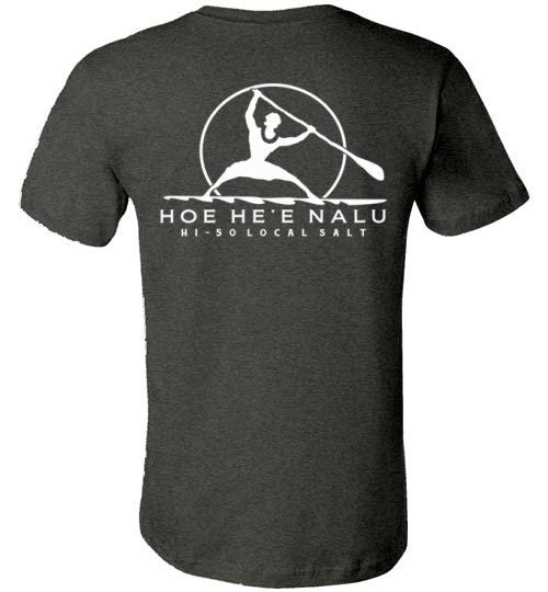 HI-50 LOCAL SALT HOE HE'E NALU SUP T-SHIRT