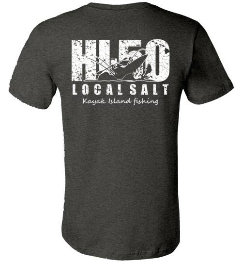 Bad Tuna T-shirt Co. HI-50 KAYAK ISLAND FISHING TSHIRT hi-50 local salt