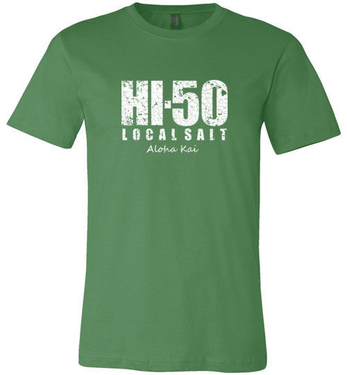 Bad Tuna T-shirt Co. HI-50 LOCAL SALT ALOHA KAI T-SHIRT hi-50 local salt