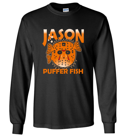 Bad Tuna T-shirt Co. JASON PUFFER FISH SHORT AND LONG SLEEVE T-SHIRT badtuna