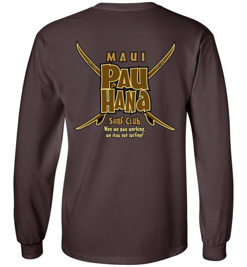 MAUI PAU HANA SURF CLUB T-SHIRT