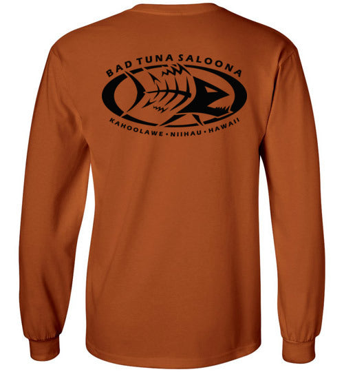 BAD TUNA SALOONA IN KAHOOLAWE AND NIIHAU T-SHIRT