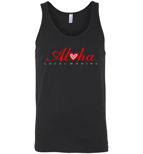 Bad Tuna T-shirt Co. LOCAL WAHINE HEART OF ALOHA T-SHIRT AND TANK TOP local wahine