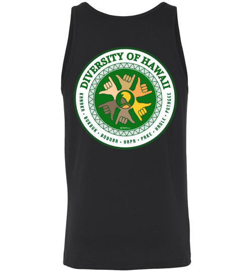 DIVERSITY OF HAWAII LONG/SHORT SLEEVE AND TANK-TOP