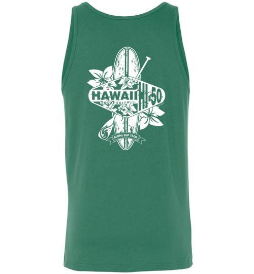 Bad Tuna T-shirt Co. HI-50 ALOHA SUP TEAM OF HAWAII TANK TOP hi-50 local salt