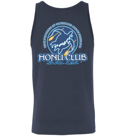 Bad Tuna T-shirt Co. LOCAL SALT HONU CLUB TANK TOP hi-50 local salt