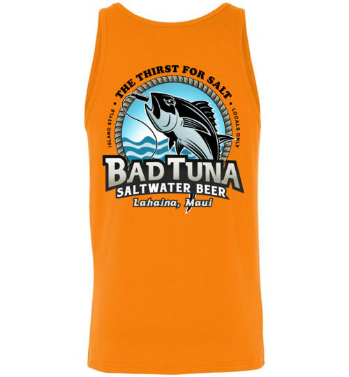 BAD TUNA SALTWATER BREW, THE THIRST FOR SALT T-SHIRT