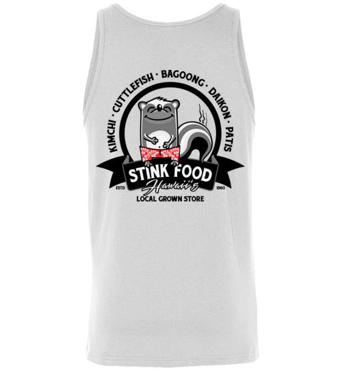 LOCAL GROWN STINK FOOD STORE T-SHIRT