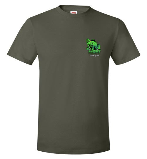 Bad Tuna T-shirt Co. MAUI LOST LIZARD ISLAND BREW T-SHIRT AND TANK TOP hi-50 local salt