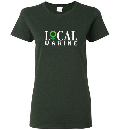 Bad Tuna T-shirt Co. LOCAL WAHINE LOGO T-SHIRT local wahine