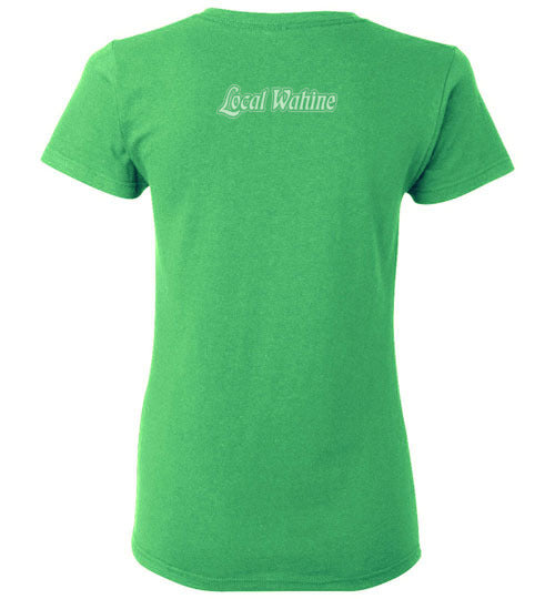 LOCAL WAHINE SURFING HAWAII T-SHIRT