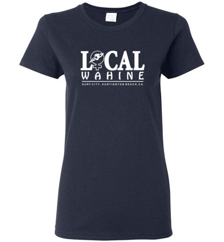 Bad Tuna T-shirt Co. LOCAL WAHINE SURF CITY T-SHIRT local wahine