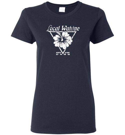 LOCAL WAHINE NORTH SHORE OAHU T-SHIRT