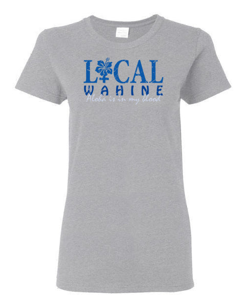 Bad Tuna T-shirt Co. LOCAL WAHINE ALOHA LIFESTYLE T-SHIRT local wahine