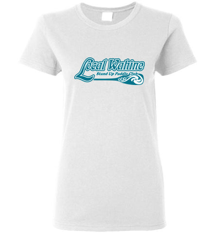 Bad Tuna T-shirt Co. LOCAL WAHINE SUP CLUB T-SHIRT local wahine