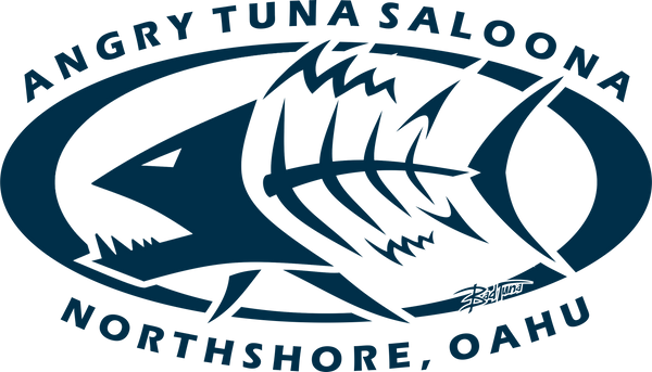 ANGRY TUNA SALOONA NORTH SHORE TEE