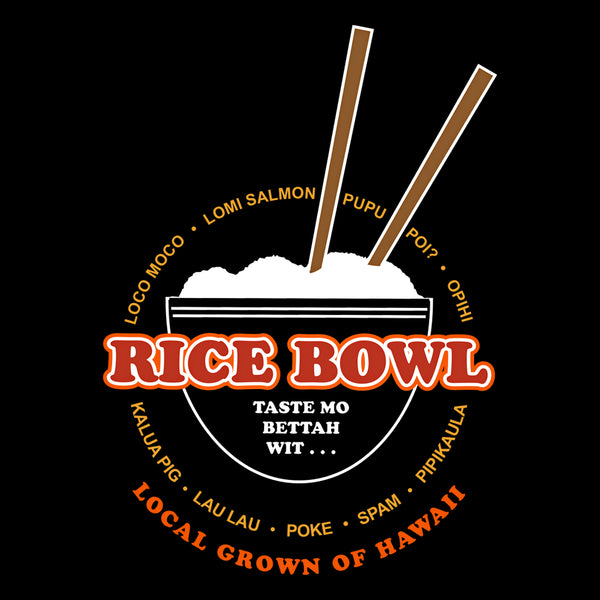 LOCAL GROWN RICE BOWL T-SHIRT