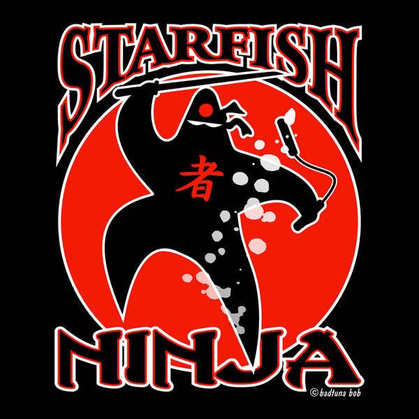 YOUTH STARFISH NINJA T-SHIRT