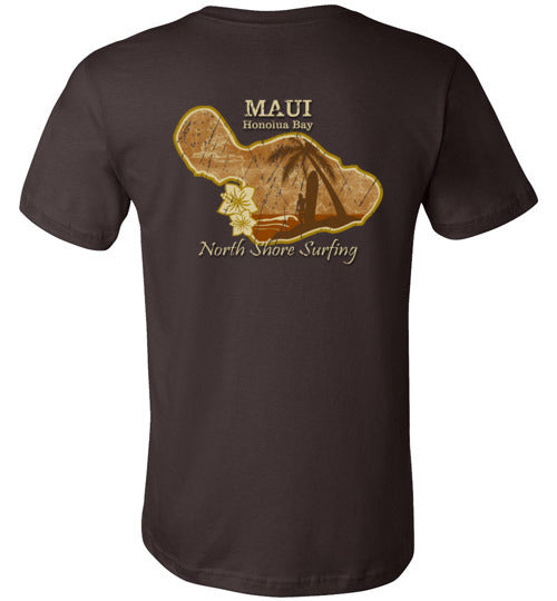Bad Tuna T-shirt Co. HI-50 MAUI NORTH SHORE SURFING T-SHIRT hi-50 local salt
