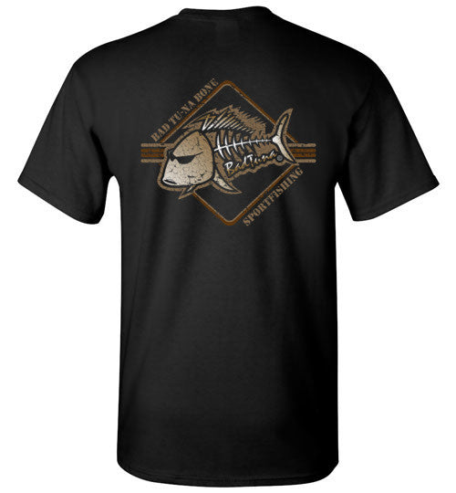 Bad Tuna T-shirt Co. VINTAGE BAD TUNA BONE SPORTFISHING T-SHIRT badtuna