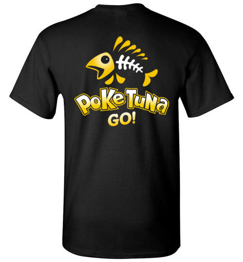 Bad Tuna T-shirt Co. POKE TUNA GO T-SHIRT badtuna