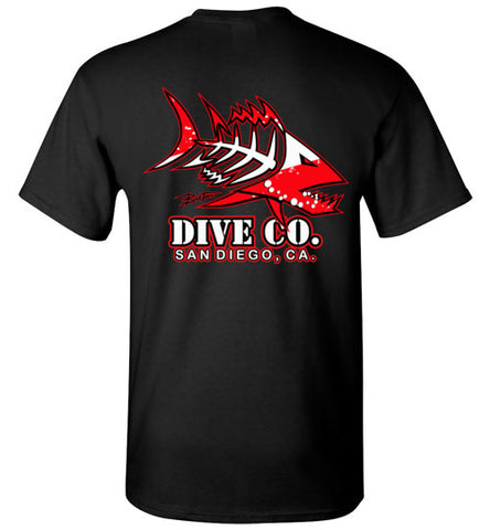 BAD TUNA DIVE CO. SAN DIEGO TEE
