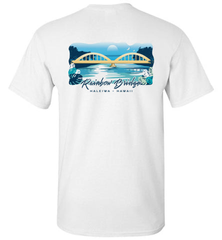 HI-50 HALEIWA RAINBOW BRIDGE T-SHIRT