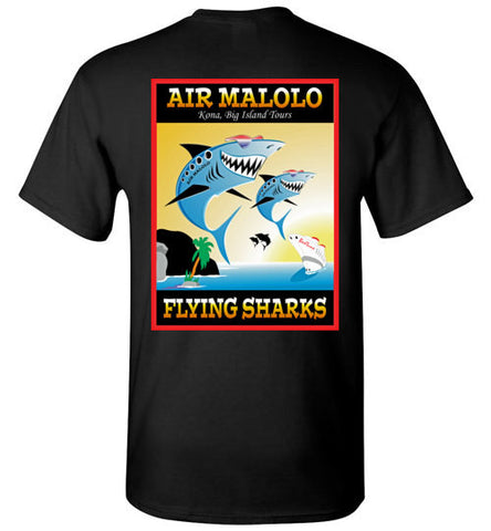 AIR MALOLO FLYING SHARKS T-SHIRT
