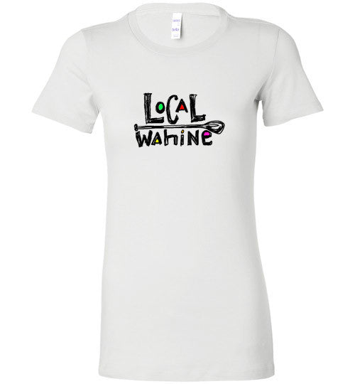 Bad Tuna T-shirt Co. LOCAL WAHINE SUP PADDLE T-SHIRT local wahine
