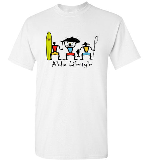 HI-50 YOUTH ALOHA LIFESTYLE T-SHIRT