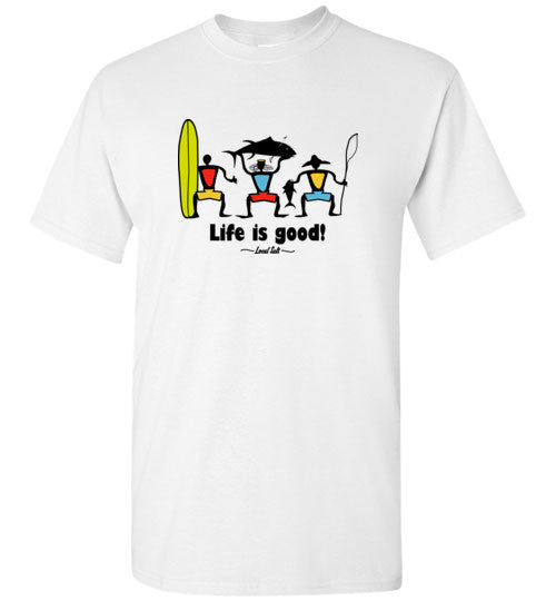 Bad Tuna T-shirt Co. YOUTH LOCAL SALT LIFE IS GOOD T-SHIRT hi-50 local salt