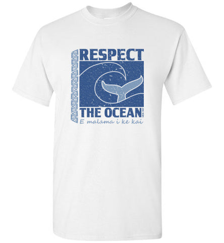 Bad Tuna T-shirt Co. YOUTH RESPECT THE OCEAN T-SHIRT hi-50 local salt