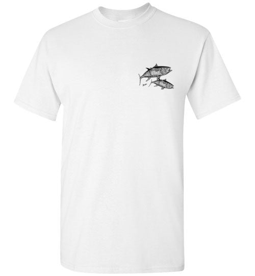 Bad Tuna T-shirt Co. TRIBAL TUNA T-SHIRT badtuna