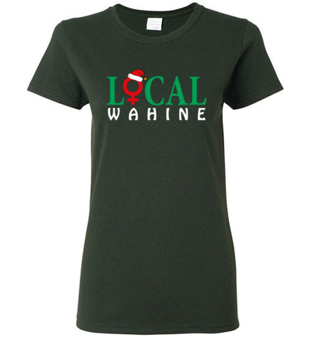 Bad Tuna T-shirt Co. LOCAL WAHINE HOLIDAY LOGO T-SHIRT local wahine